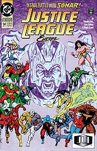 Justice League Europe, Vol. 1, #50. Image © DC Comics