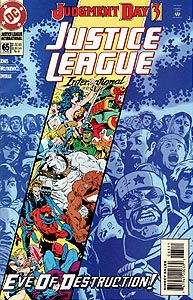 Justice League International, Vol. 2, #65. Image © DC Comics