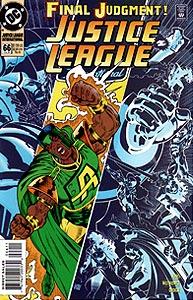 Justice League International 66.  Image Copyright DC Comics