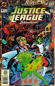 Justice League International Annual, Vol. 2, #5. Image © DC Comics