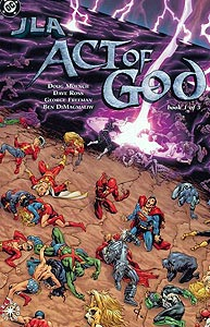 JLA: Act of God, Vol. 1, #1. Image © DC Comics