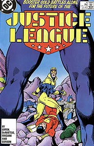 Justice League, Vol. 1, #4. Image © DC Comics
