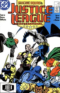 Justice League International, Vol. 1, #13. Image © DC Comics