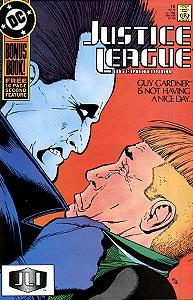 Justice League International, Vol. 1, #18. Image © DC Comics