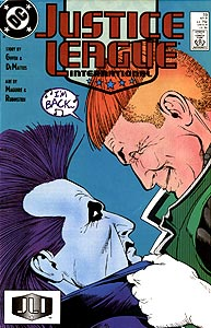 Justice League International 19.  Image Copyright DC Comics