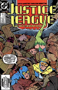 Justice League International, Vol. 1, #21. Image © DC Comics
