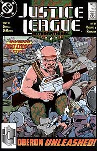 Justice League International 22.  Image Copyright DC Comics