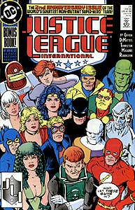Justice League International 24.  Image Copyright DC Comics