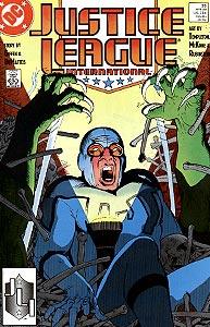 Justice League International 25.  Image Copyright DC Comics