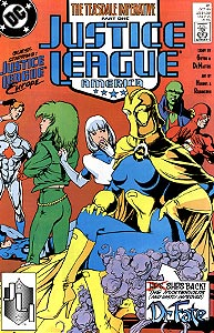 Justice League America, Vol. 1, #31. Image © DC Comics