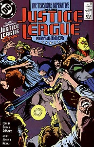 Justice League America, Vol. 1, #32. Image © DC Comics