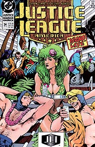 Justice League America, Vol. 1, #34. Image © DC Comics