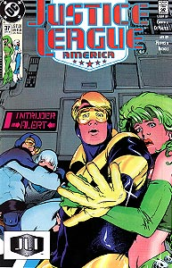 Justice League America 37.  Image Copyright DC Comics