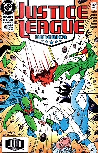 Justice League America 38.  Image Copyright DC Comics