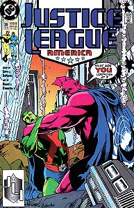 Justice League America 39.  Image Copyright DC Comics