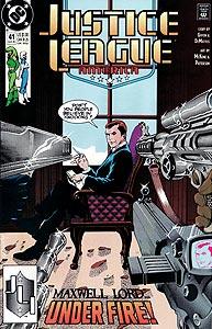 Justice League America 41.  Image Copyright DC Comics