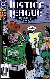 Justice League America, Vol. 1, #53. Image © DC Comics