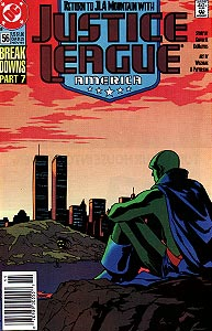 Justice League America 56.  Image Copyright DC Comics
