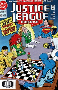 Justice League America 61.  Image Copyright DC Comics