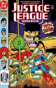 Justice League America 62.  Image Copyright DC Comics
