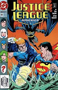 Justice League America, Vol. 1, #66. Image © DC Comics