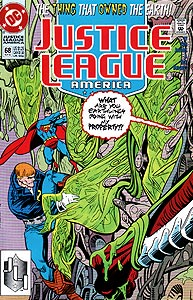 Justice League America 68.  Image Copyright DC Comics