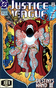Justice League America 74.  Image Copyright DC Comics