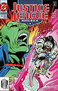Justice League America 77.  Image Copyright DC Comics