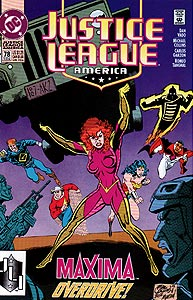 Justice League America, Vol. 1, #78. Image © DC Comics