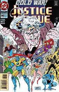 Justice League America 84.  Image Copyright DC Comics