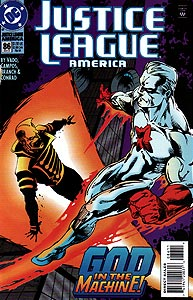 Justice League America 86.  Image Copyright DC Comics