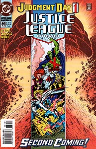 Justice League America 89.  Image Copyright DC Comics
