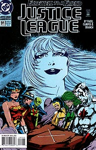 Justice League America, Vol. 1, #91. Image © DC Comics
