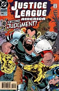 Justice League America 96.  Image Copyright DC Comics