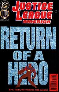 Justice League America 100.  Image Copyright DC Comics