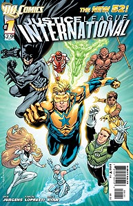 Justice League International 1.  Image Copyright DC Comics