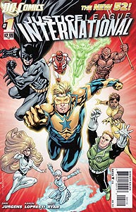 Justice League International 1. Reprint Cover Image Copyright DC Comics