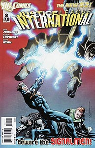 Justice League International, Vol. 3, #2. Image © DC Comics