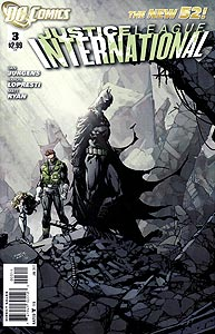 Justice League International 3.  Image Copyright DC Comics