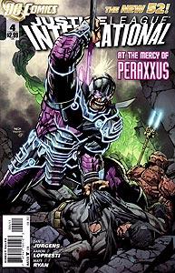 Justice League International, Vol. 3, #4. Image © DC Comics