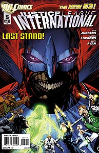 Justice League International 5.  Image Copyright DC Comics