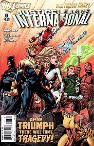 Justice League International, Vol. 3, #6. Image © DC Comics
