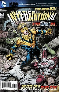 Justice League International 7.  Image Copyright DC Comics