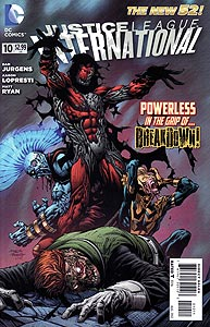 Justice League International 10.  Image Copyright DC Comics