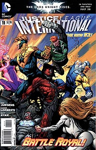 Justice League International, Vol. 3, #11. Image © DC Comics