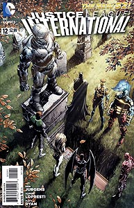 Justice League International 12.  Image Copyright DC Comics