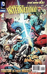 Justice League International Annual 1.  Image Copyright DC Comics