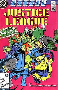 Justice League Annual, Vol. 1, #1. Image © DC Comics