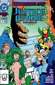 Justice League America Annual 5.  Image Copyright DC Comics
