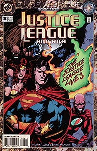 Justice League America Annual, Vol. 1, #8. Image © DC Comics